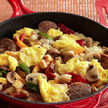 Italian Sausage and Egg Breakfast Skillet