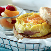 Microwave Egg, Canadian Bacon 'N' Cheese Muffin
