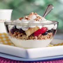 Pleasin' Yogurt Breakfast Parfait