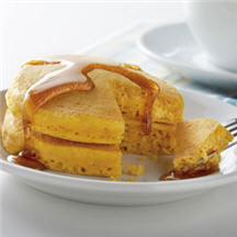 Puffy Pumpkin Pancakes