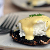 Roasted Portobello Eggs Benedict