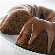 Chocolate Mayan Bundt Cake