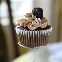 Cookie-Stuffed Chocolate Cupcakes