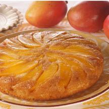 Mango Upside-Down Cake Recipe at CooksRecipes.com