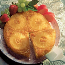 Pineapple Upside Down Wisconsin Gouda Cake