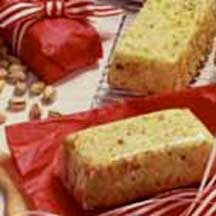 Sponge Cake with Studded Pistachios