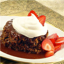 Warm Mocha Pudding Cake