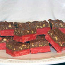 Cherry Mountain Candy Squares with Variations