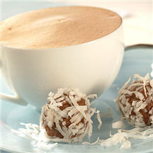 Chocolate-Coconut-Almond Truffle Cookies