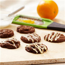 Chocolate Chocolate Raisin Cookies