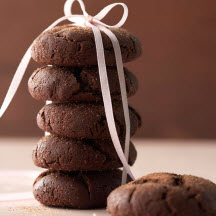 Cocoa-Coffee Crinkles