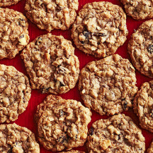 Coconut, Cherry and Chocolate Oatmeal Cookies