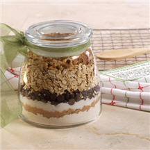Oatmeal Chip Cookie Mix in a Jar