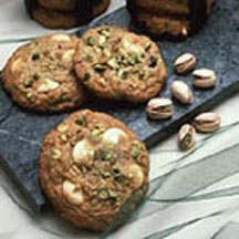 Pistachio White Chocolate Chunk Cookies Recipe at ...