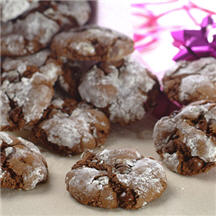 Slimmer Chocolate Crinkle-Top Cookies