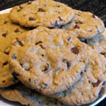 Thick and Chewy Chocolate Chip Cookies