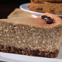 Cappuccino Cheesecake with Nut Crust