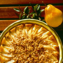 Crunchy Pear Cheesecake