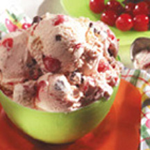 Easy Cherry Chocolate Chunk Ice Cream