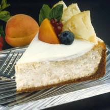 Jamaican Rice Cheesecake