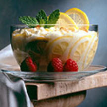 Lemon Rice Dessert