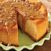 ... pumpkin cheesecake instead of pumpkin pie for your Thanksgiving feast