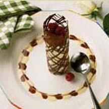 Mascarpone Chocolate Tower