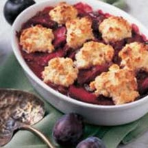 Plum Good Cobbler