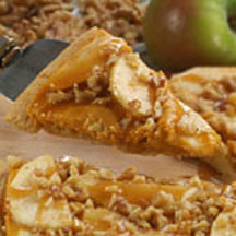 Pumpkin Apple Dessert Pizza