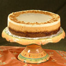 Pumpkin Ginger Cheesecake