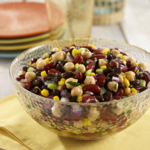 Bean Trio with Citrus Cumin Dressing