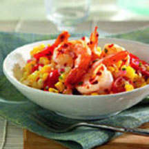 Kevin Rathbun's Shrimp and Corn Salad with Basil
