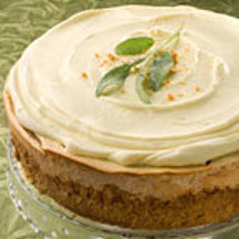 Sweet Potato Cheesecake with Graham Cracker Crust