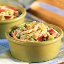 Tangy Apple Slaw