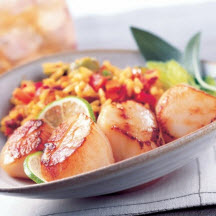 Alaska Seafood with Orzo