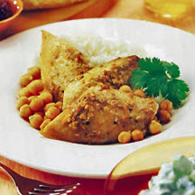 Aromatic Mackerel with Chickpeas