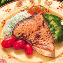 Blackened Swordfish Steaks