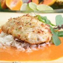 Coconut Mahi-Mahi in Thai Curry Sauce Recipe ...