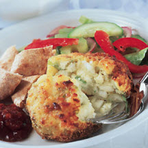 Fish Cakes with Cheese Filling