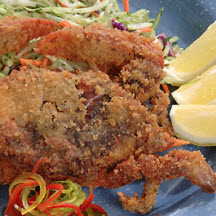 Fried Florida Soft-Shell Blue Crab