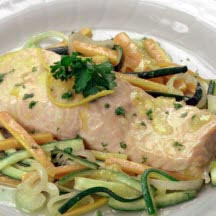 Poached & Steamed Fish & Seafood Recipes