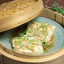 Steamed Fish on Rice