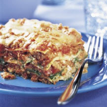Easy Beef & Spinach Lasagna