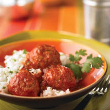 Easy Meatballs in Spicy Tomato Sauce