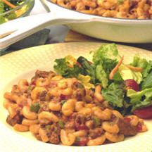Easy Sausage Macaroni Supper