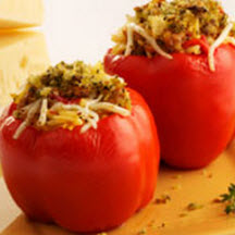 Italian Sausage-Stuffed Peppers with Provolone