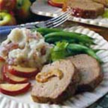 Mustard-Apple Meatloaf