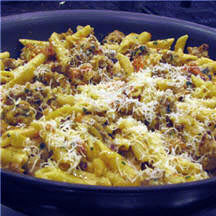 Penne with Sausage Cream Sauce