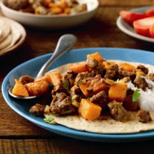 Sweet Potato Beef Mash-Up
