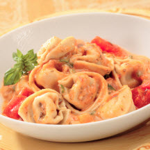 Whole Wheat Tortellini with Italian Turkey Sausage & Peppers